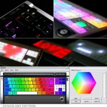 New Color Changing Luxeed U5 LED Keyboard
