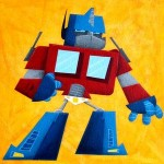 Optimus Prime acrylic