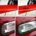 anti car theft stickers