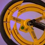 anti theft bike wheel design
