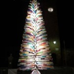 artificial murano tree lit up