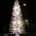 artificial murano tree lit up
