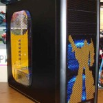bumblebee transformers pc case mod