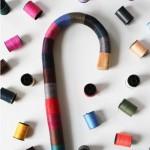 colorful walking cane