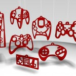 controller red ornaments
