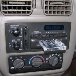 fake car stereo diy