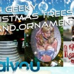 geeky christmas trees decorations ornaments 2009