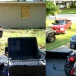 home security paintball gun turret