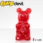 huge gummy bear red