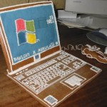 laptop gingerbread