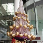 luxurious golden tree