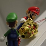 mario and luigi ornaments