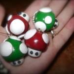 mario mushroom nice ornaments