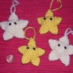 mario star christmas ornaments