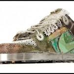 metal nike shoes design