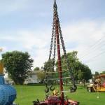 metallic bizarre tree