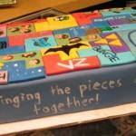 new tetris cake design