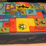 new tetris game cake design various