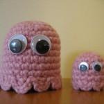 pinky pacman woolen art