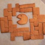 retro pacman tetris gingerbread