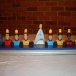 star trek led menorah