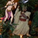 star wars action leia ornament