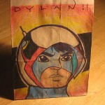 thunderbirds lunch bag art