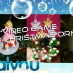 video games christmas ornaments collection 2009