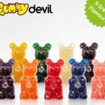 worlds largest gummy bear flavors