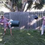 The Airzooka Air Gun Fighting