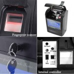 Attendence Time Card Recorder with Fingerprint Verification