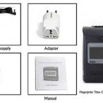 Attendence Time Card Recorder with Fingerprint Verification 4