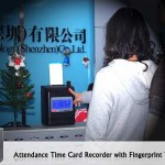 Attendence Time Card Recorder with Fingerprint Verification 5