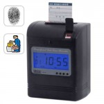 Attendence Time Card Recorder with Fingerprint Verification1