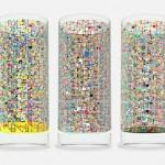 Cipher Drinking Glass Pattern