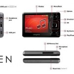 Creative Zen 16 GB Portable Media Player 3