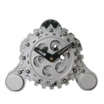 Modern Gear Table Clock 1