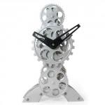 Modern Gear Table Clock 2
