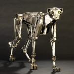 Steampunk Mechanical Cheetah