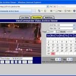 Toshiba IK-WB15A IP Security Pan Tilt Zoom Camera – Web View