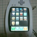 Touchscreen Game Boy Advance converted into an iPhone-6