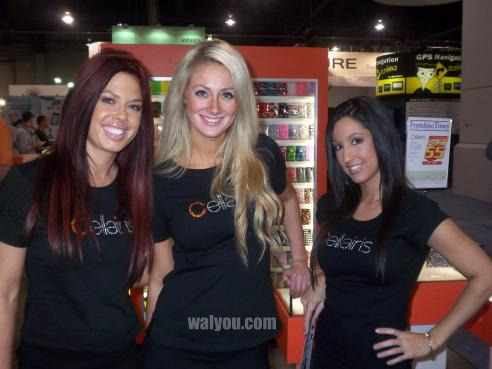 ces 2010 hot girls image 1