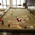 chic pool table obscura