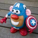 comic book captain america potato head