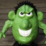 comic book incredible hulk potato head