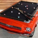 cool pool mod ford mustang table