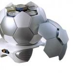 football shaped mini cooler