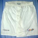 google soiled shorts