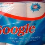 google toileteries toilet paper