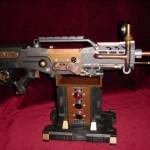 gun model steampunk